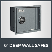 "6"" Deep Wall Safes"