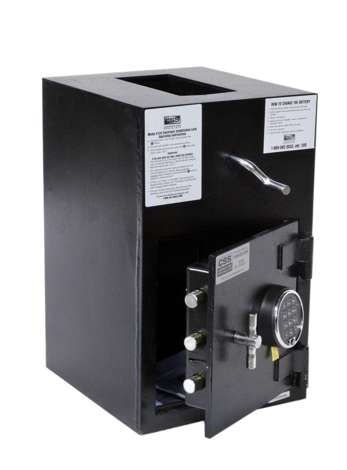 FireKing RH2012-FK1 Rotary Hopper Depository Safe