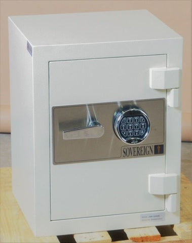 Sovereign George VI – Model G21 Heavy B/C Rate Solid Steel Plate Safe