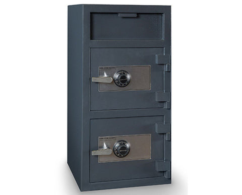 Hollon FDD-4020CC Double Door Depository Safe