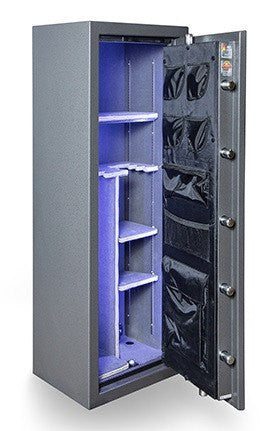 Gun Safes & Rifle Safe Products - Hollon BHS-16E Black Hawk Series Gun Safe