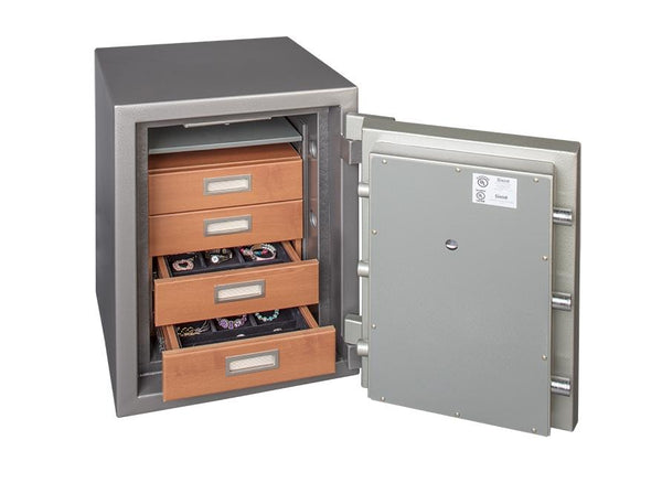 Gardall Cab4 0 0 4 Drawer Jewelry Cabinet Safe And Vault