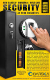 Barska AX11652 Tall Biometric Safe