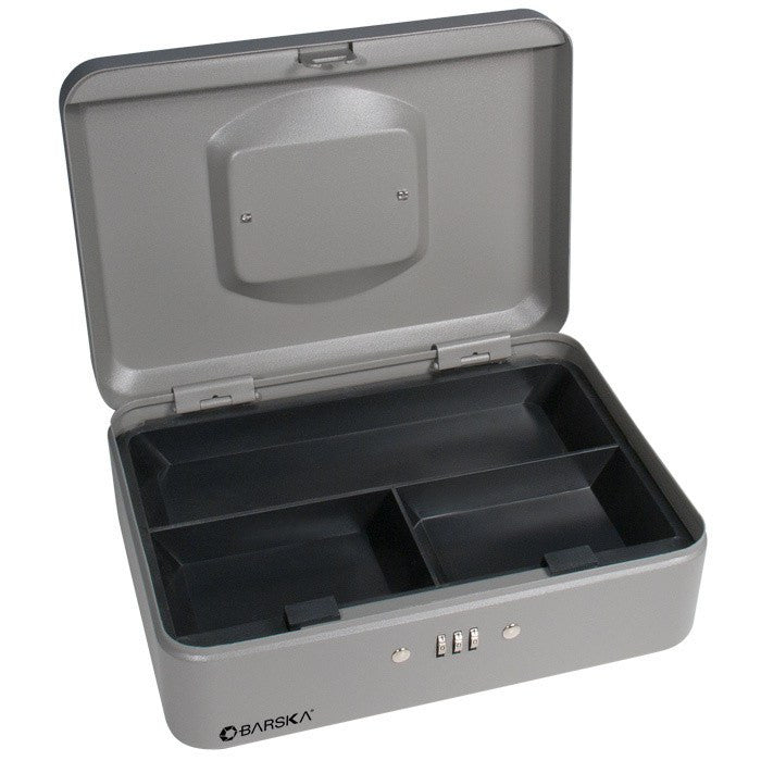 "Barska CB11786 10"" Cash Box with Combination"
