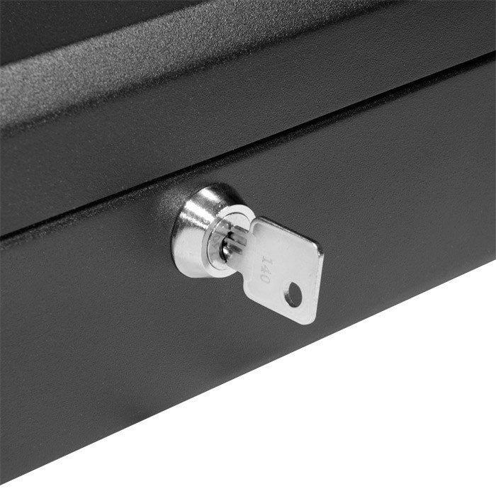 "Barska CB11834 12"" Cash Box with Key Lock"