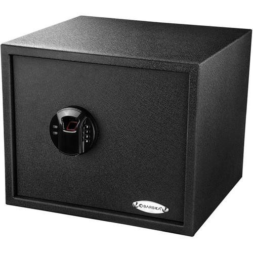 Biometric & Fingerprint Safes - Barska AX12428 1.45 Cubic Ft. Biometric Keypad Security Safe HQ300
