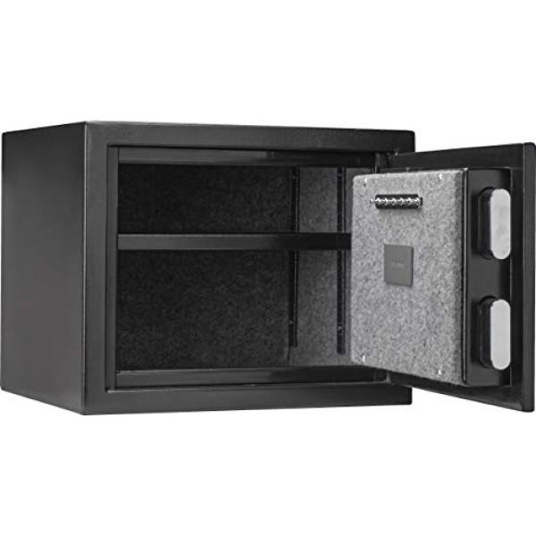 Biometric & Fingerprint Safes - Barska AX13498 Biometric Fireproof Safe - Black