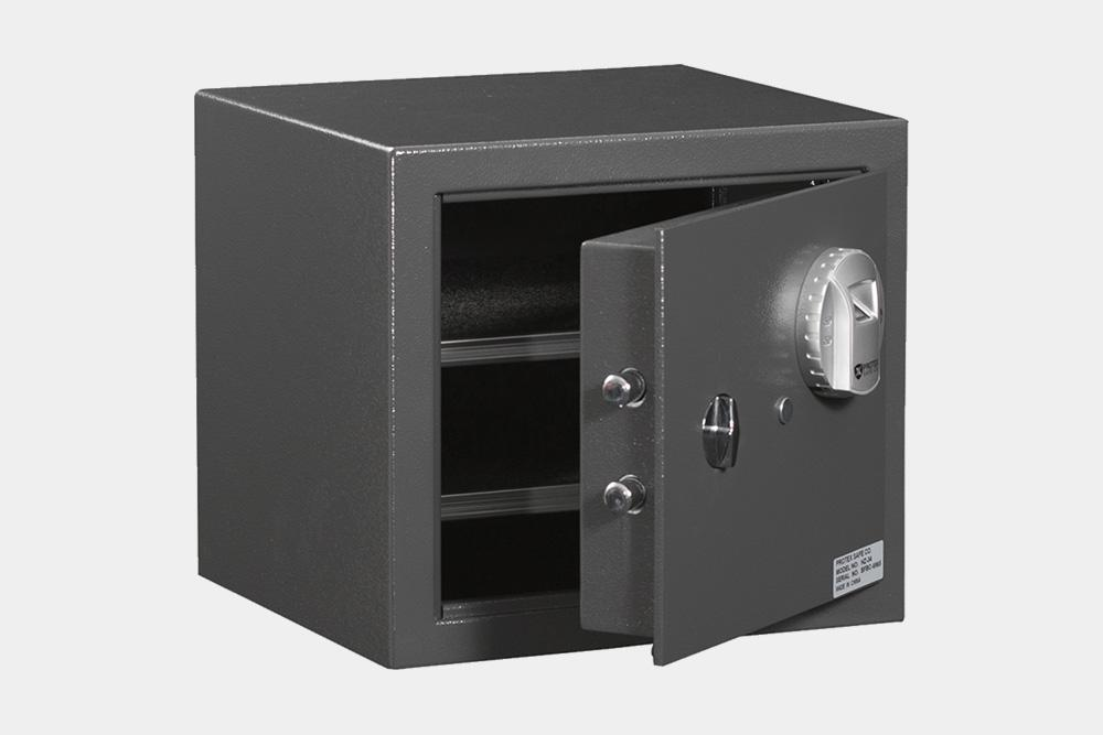 Biometric & Fingerprint Safes - Protex HZ-34 Biometric Fireproof Safe