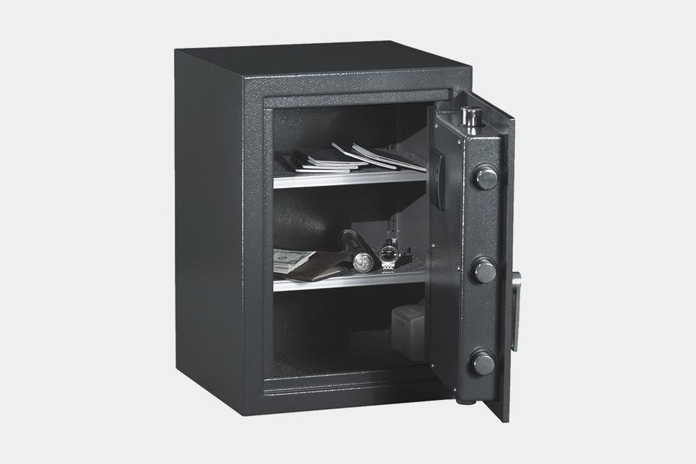 Biometric & Fingerprint Safes - Protex HZ-53 Biometric Fireproof Safe