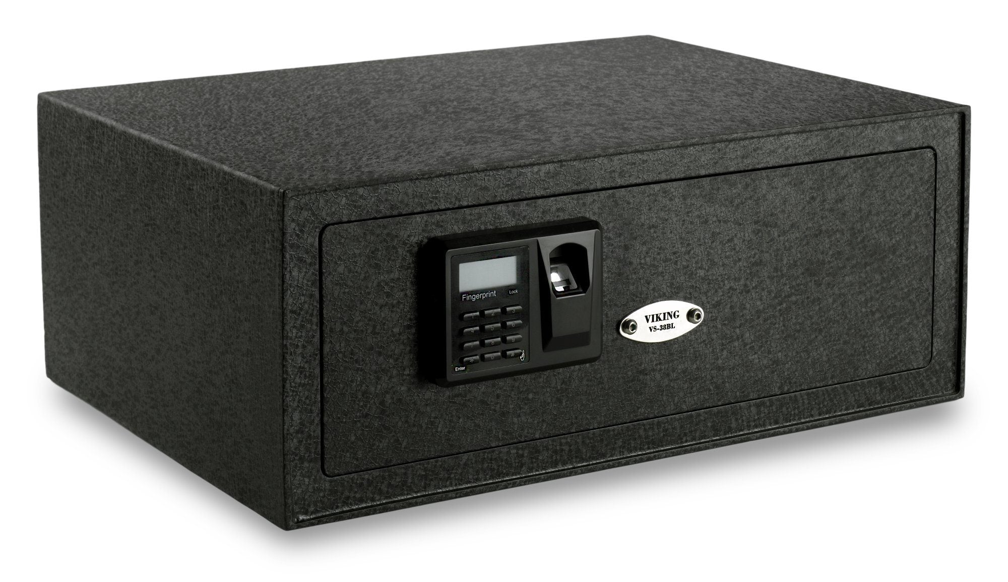 Biometric & Fingerprint Safes - Viking VS-38BLX Extra Wide Laptop Biometric Safe