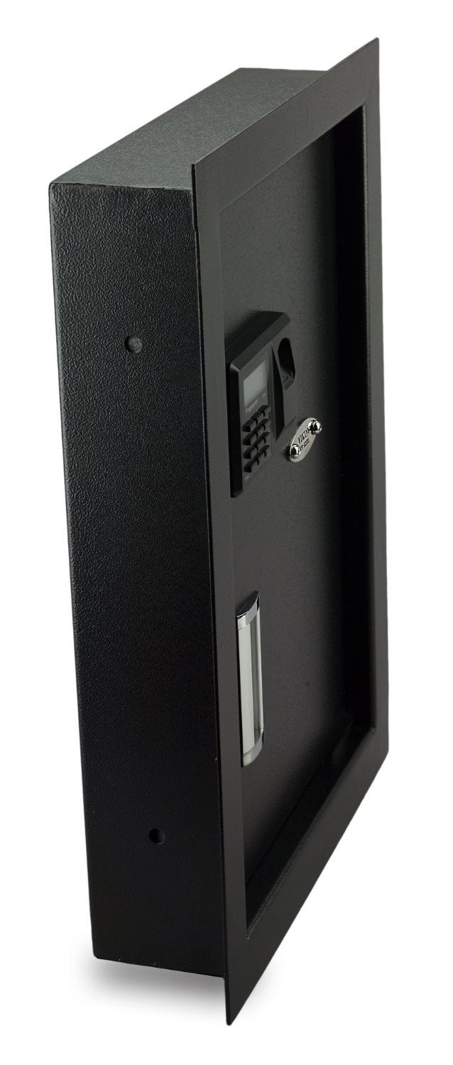 Biometric & Fingerprint Safes - Viking VS-52BL Biometric Fingerprint Hidden Wall Safe