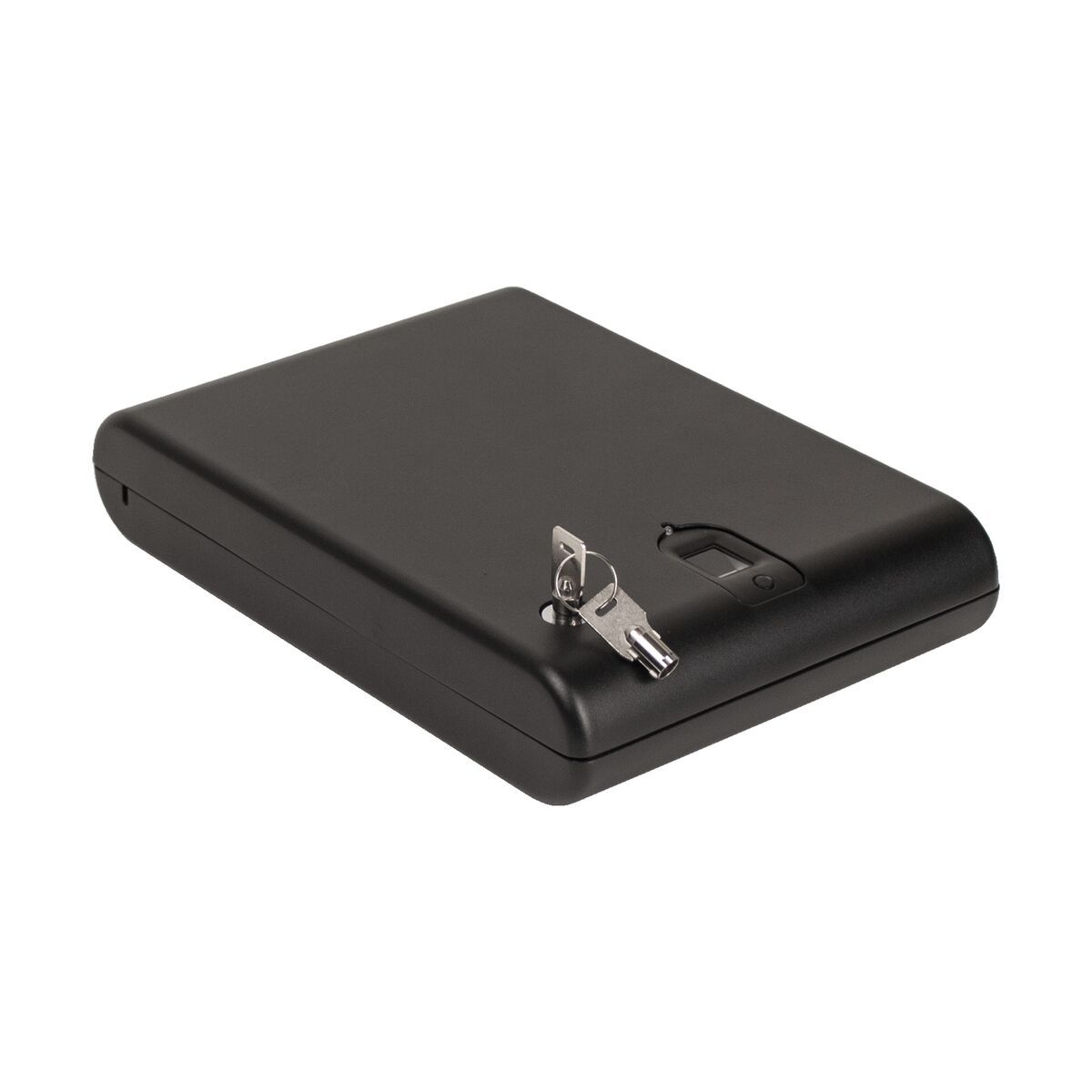 Biometric Handgun Safes - Tracker SPS-03B Small Pistol Safe With Biometric Lock