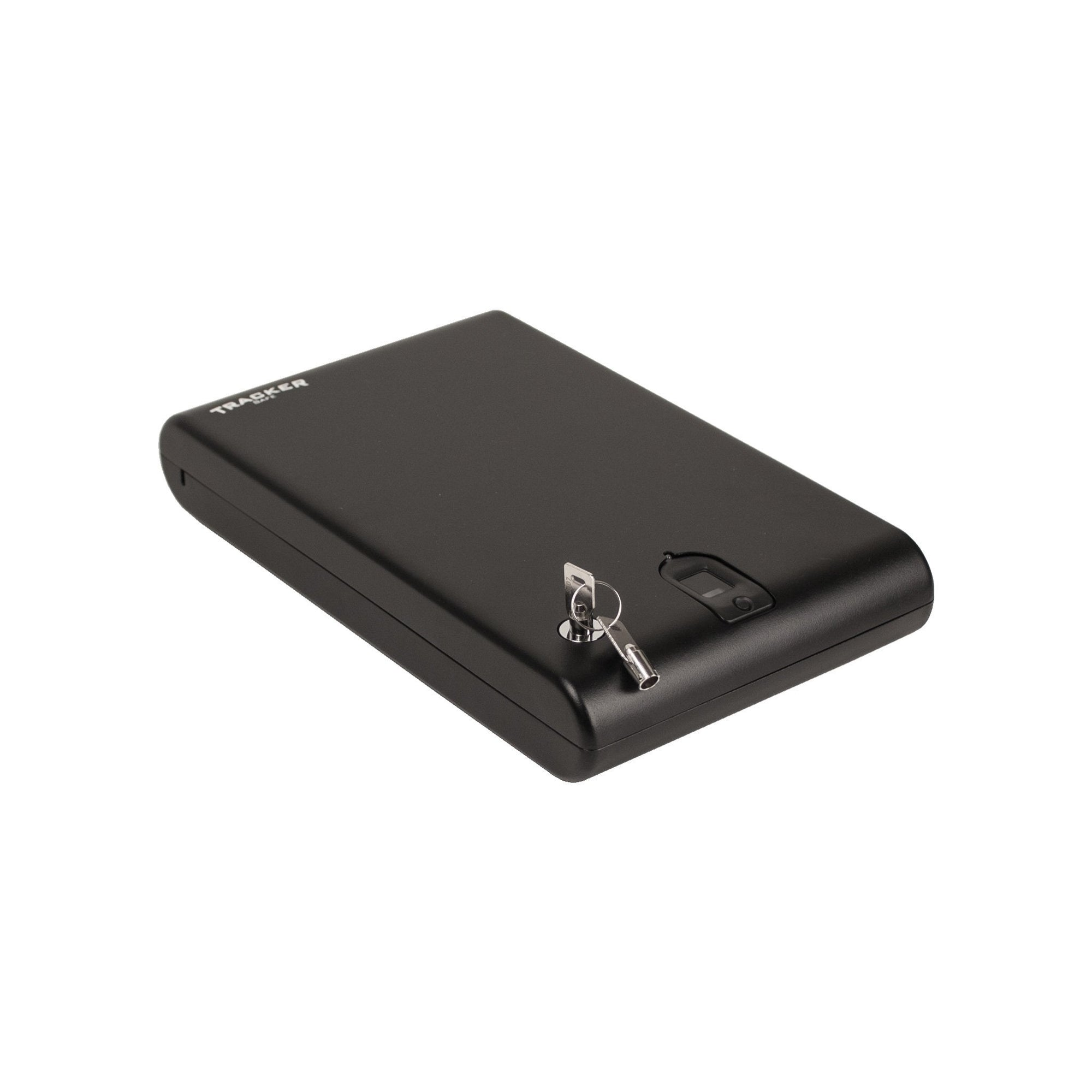 Biometric Handgun Safes - Tracker SPS-04B Small Pistol Safe With Biometric Lock