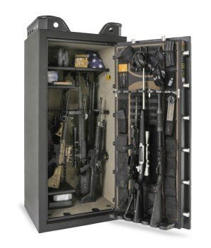 Browning US33 Black Label Mark IV Gun Safe Door Open