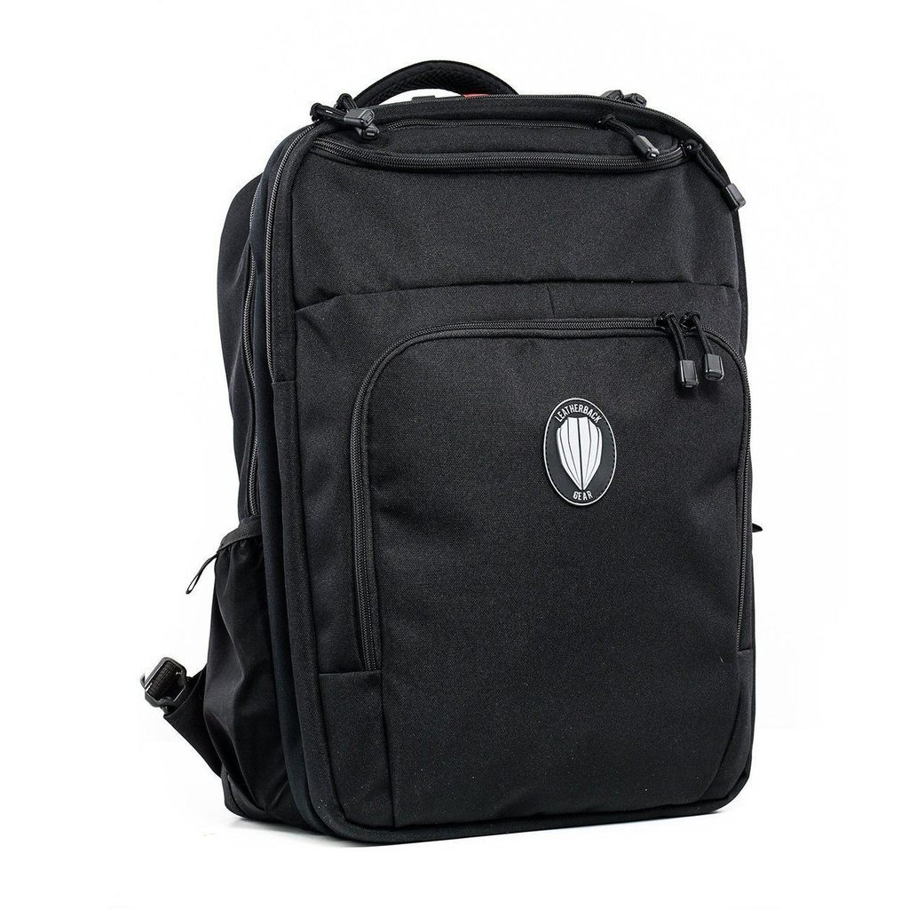 Bulletproof Backpacks - Leatherback Civilian One Bulletproof Backpack With Two Bulletproof Panel Inserts