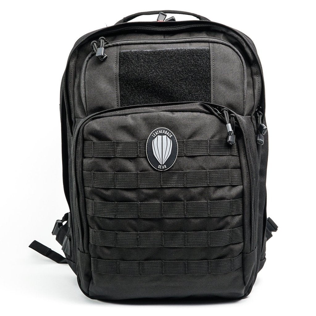 Bulletproof Backpacks - Leatherback Tactical One Bulletproof Backpack With Two Bulletproof Panel Inserts