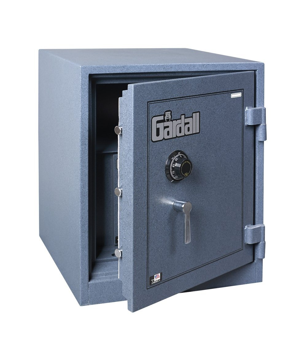 Burglar Fire Safe Products - Gardall Z-2218 Combination Security Fire & Burglary Chest