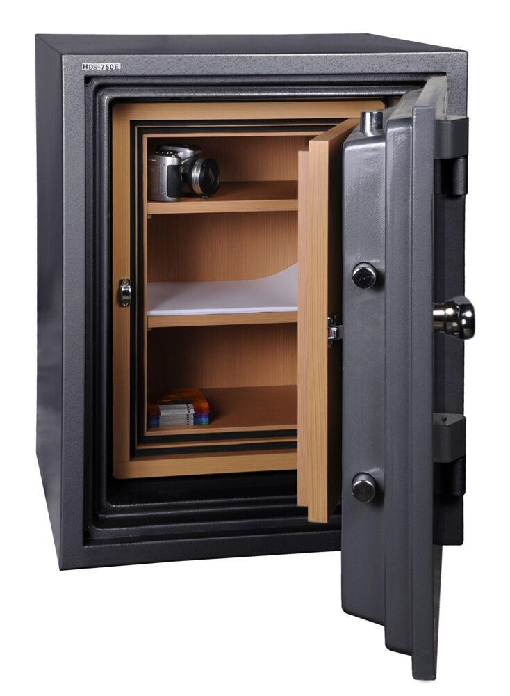 Data Media Safes - Hollon HDS-750C Data Media Safe With Dial Combination Lock