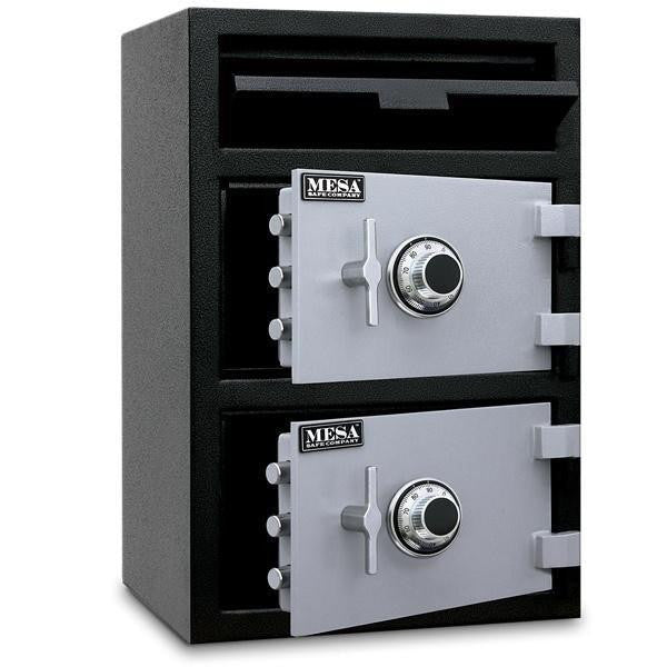 Double Door Depository Safe - Mesa MFL3020CC Double Door Depository Safe