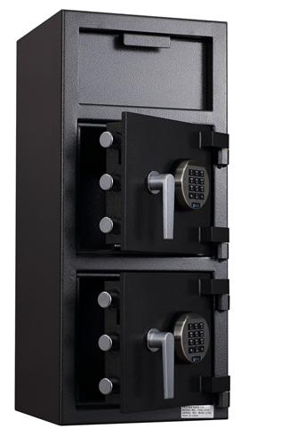Double Door Depository Safe - Protex FDD-3214 II Double Door Depository Safe