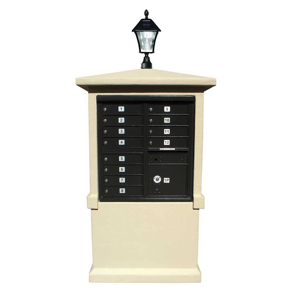 Estateview EVMC-TALL Stucco Cap And Pedestal
