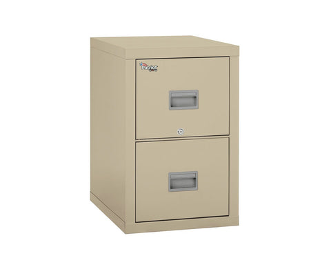Fire File Cabinets - FireKing 2P1825-C 2 Drawer Patriot Vertical File Cabinet (Letter/Legal)