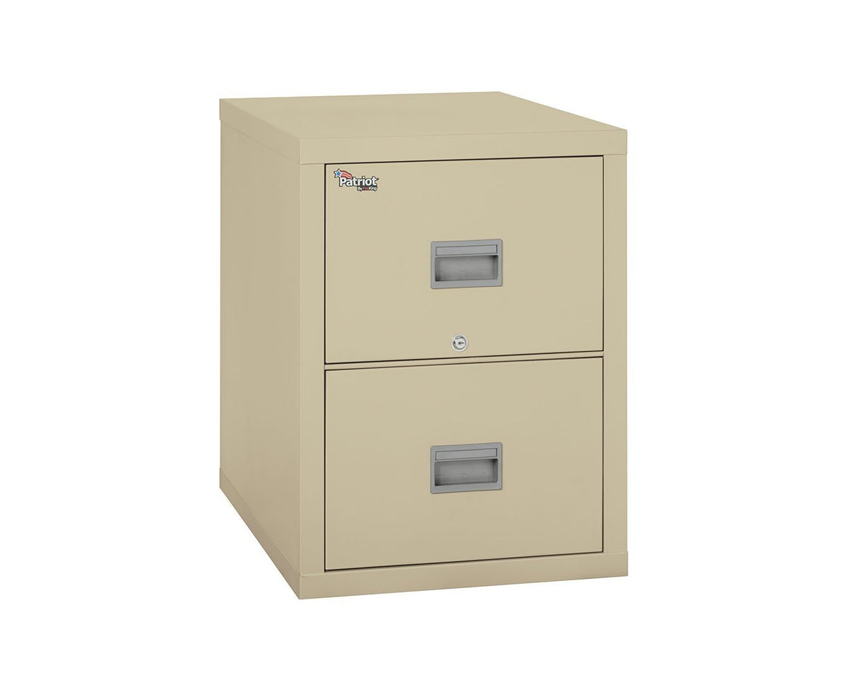 Fire File Cabinets - FireKing 2P1831-C 2 Drawer Patriot Vertical File Cabinet (Letter)