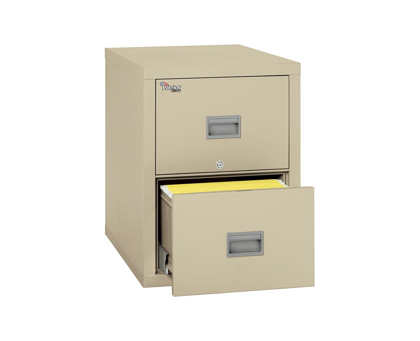 Fire File Cabinets - FireKing 2P2131-C 2 Drawer Patriot Vertical File Cabinet (Legal)