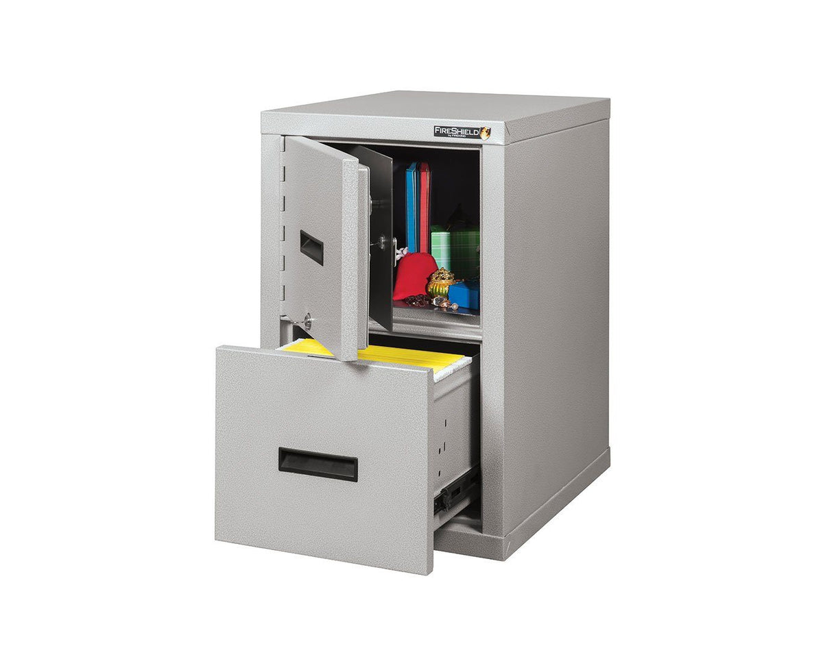 Fire File Cabinets - FireKing 2S1822-DDSSF Safe-In-A-File Cabinet