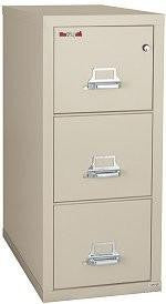 Fire File Cabinets - FireKing 3-1831-C Vertical Fire File Cabinet