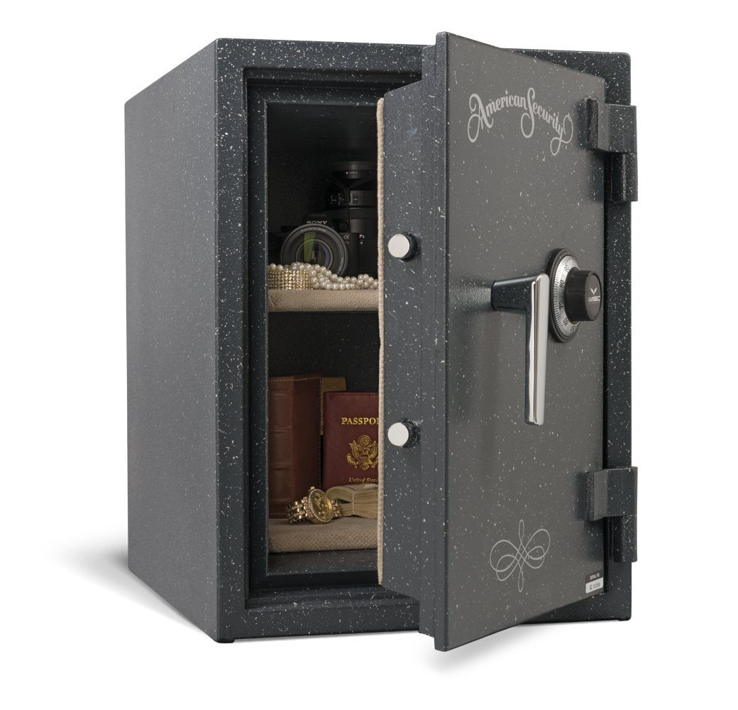 Fireproof Safes & Waterproof Chests - AMSEC UL1812XD UL Two Hour Fire & Impact Safe