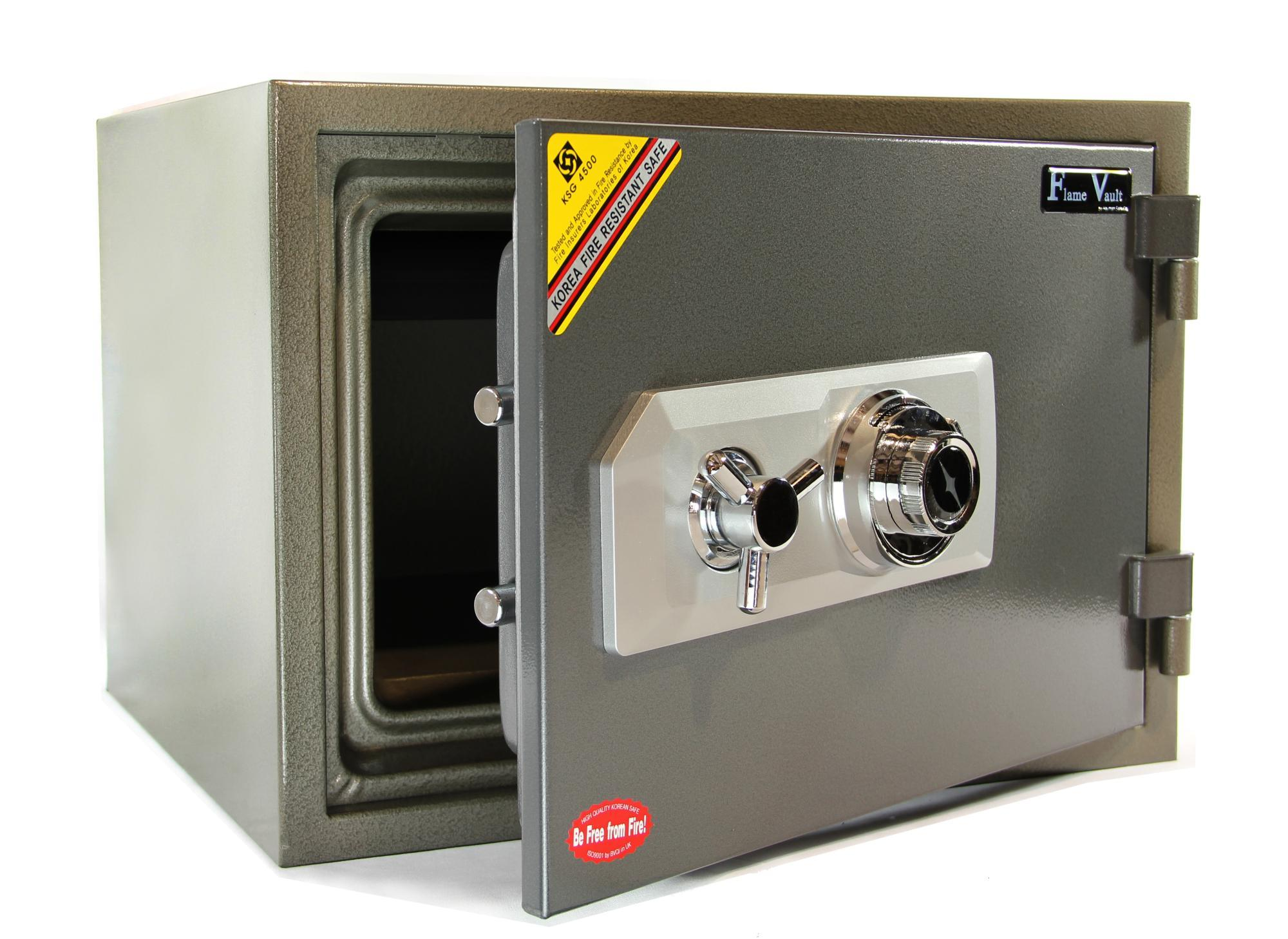 Fireproof Safes & Waterproof Chests - Hayman FV-137C FlameVault One Hour Fire Safe