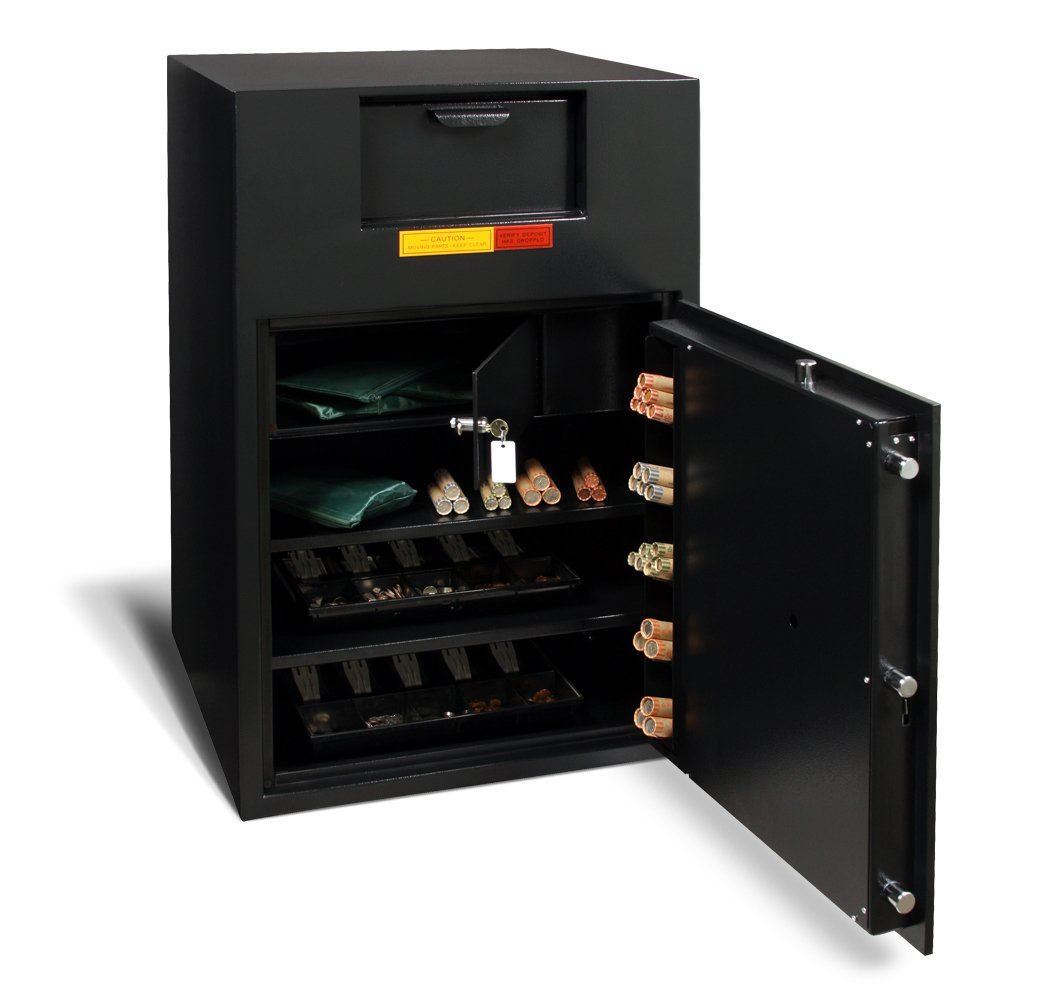 Front Loading Deposit Safes - AMSEC BWB3025FL Wide Body Deposit Safe
