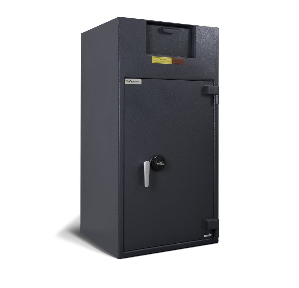 Front Loading Deposit Safes - AMSEC BWB4025FLNL Wide Body Deposit Safe - No Locker