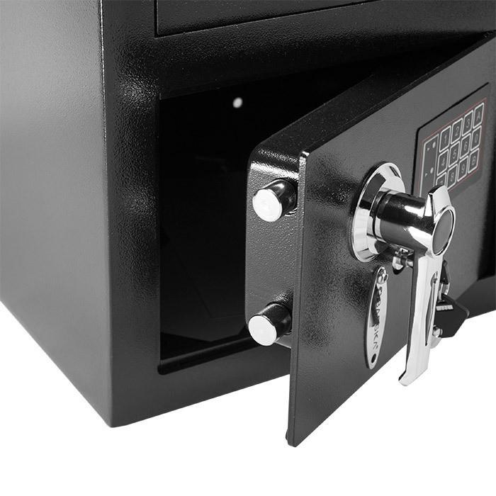 Front Loading Deposit Safes - Barska AX11932 Standard Keypad Depository Safe - Refurbished
