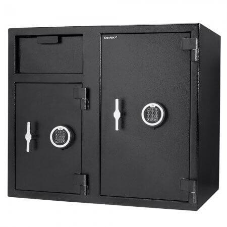 Front Loading Deposit Safes - Barska AX13316 Double Door Depository Safe