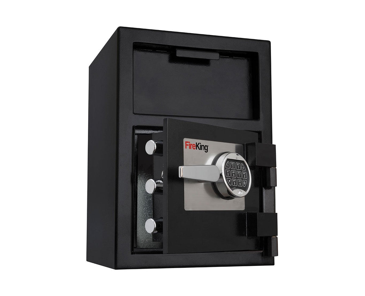 Front Loading Deposit Safes - FireKing SB2014-BLEL Front Loading Depository Safe