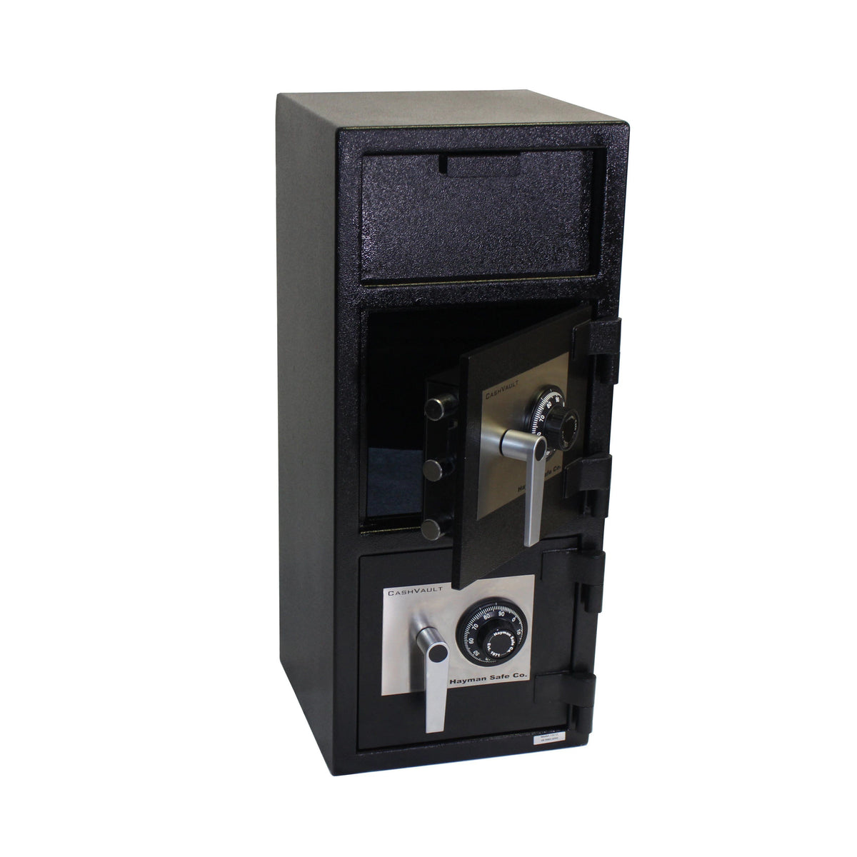 Hayman CV-F32-2-CC Front Loading Double Door Deposit Safe
