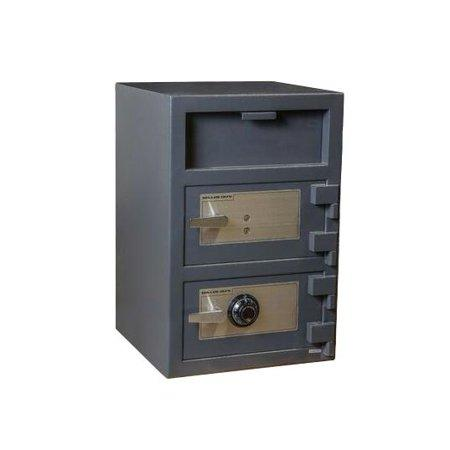 Front Loading Deposit Safes - Hollon FDD-3020CK Double Door Depository Safe