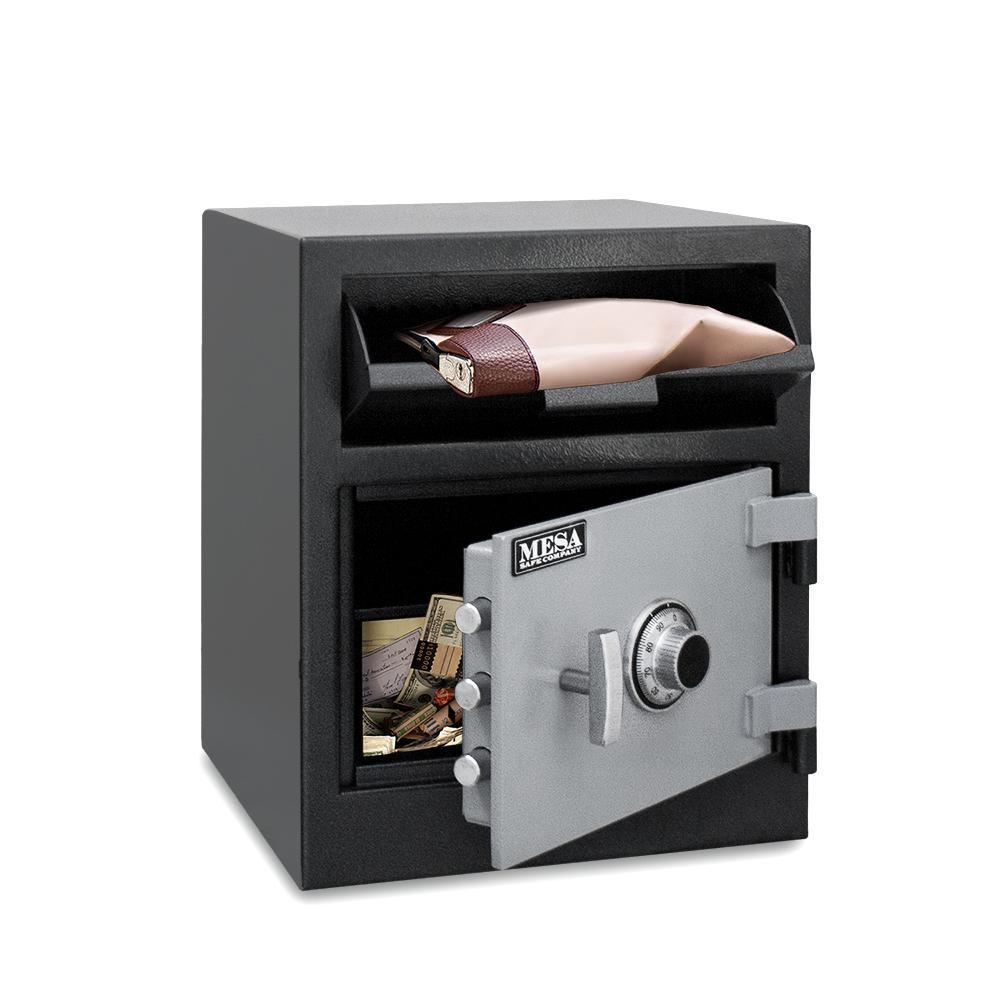 Front Loading Deposit Safes - Mesa MFL2118C Cash Management Depository Safe