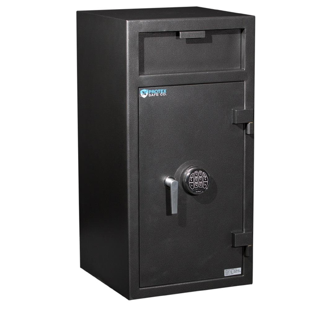 Front Loading Deposit Safes - Protex FD-4020K Front Loading Depository Safe