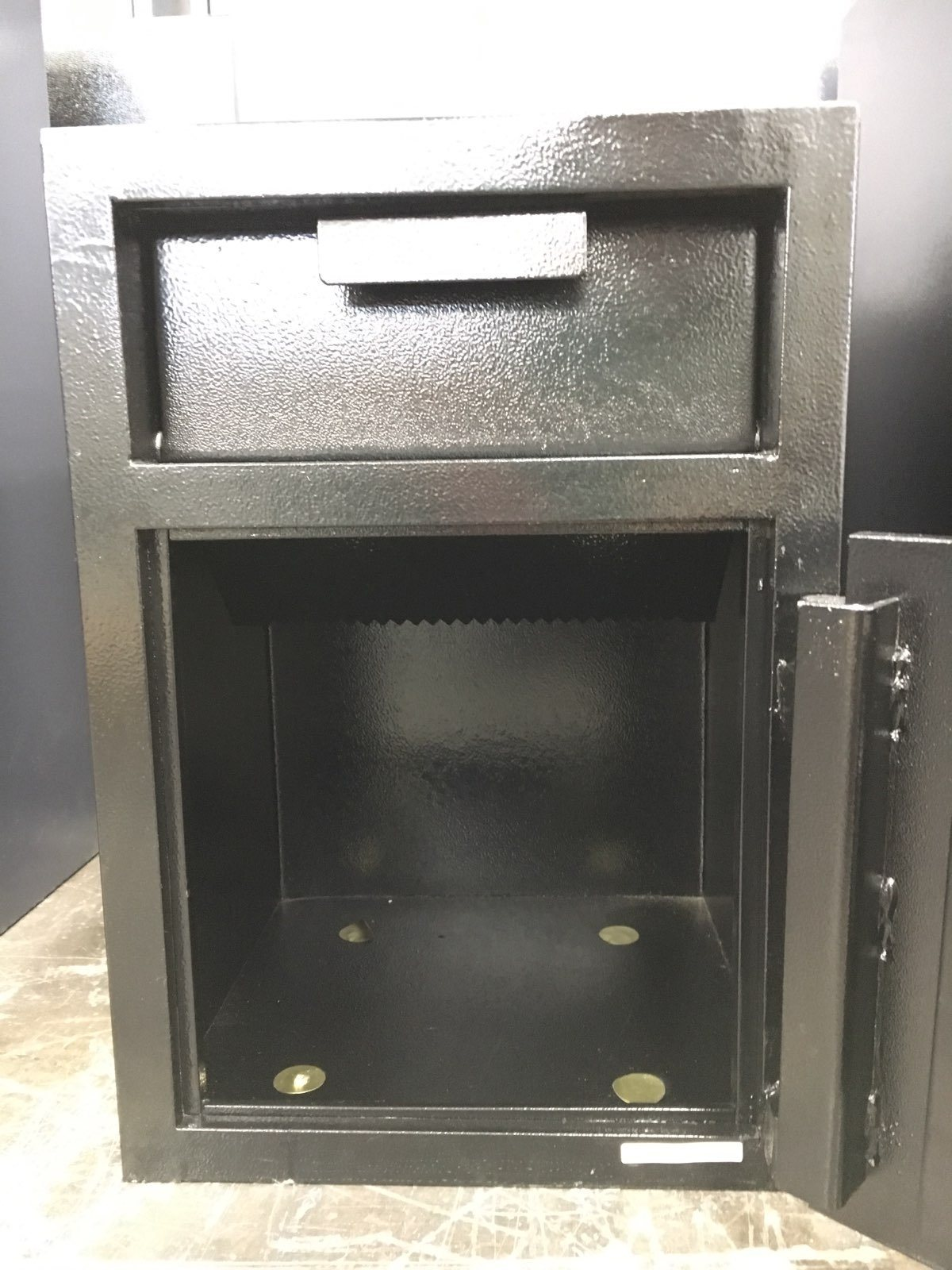 Front Loading Deposit Safes - SafeandVaultStore F-2014E Depository Safe With Fortress Electronic Lock