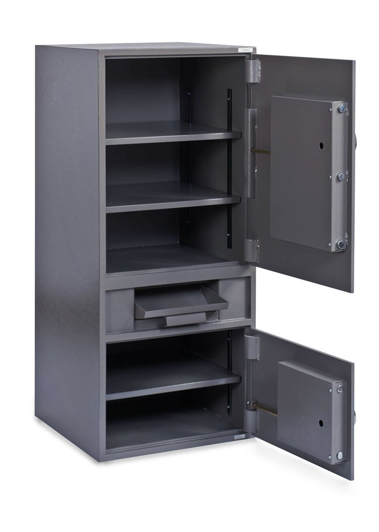 Front Loading Deposit Safes - SafeandVaultStore FL-4620DDEE B-Rate Cash Management Depository Safe