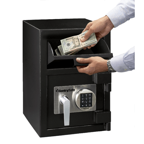 Front Loading Deposit Safes - Sentry DH-074E Front Loading Depository Safe