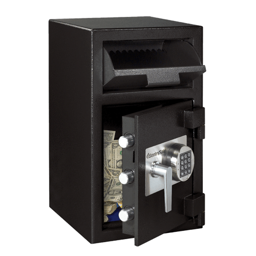 Front Loading Deposit Safes - Sentry DH-109E Front Loading Depository Safe
