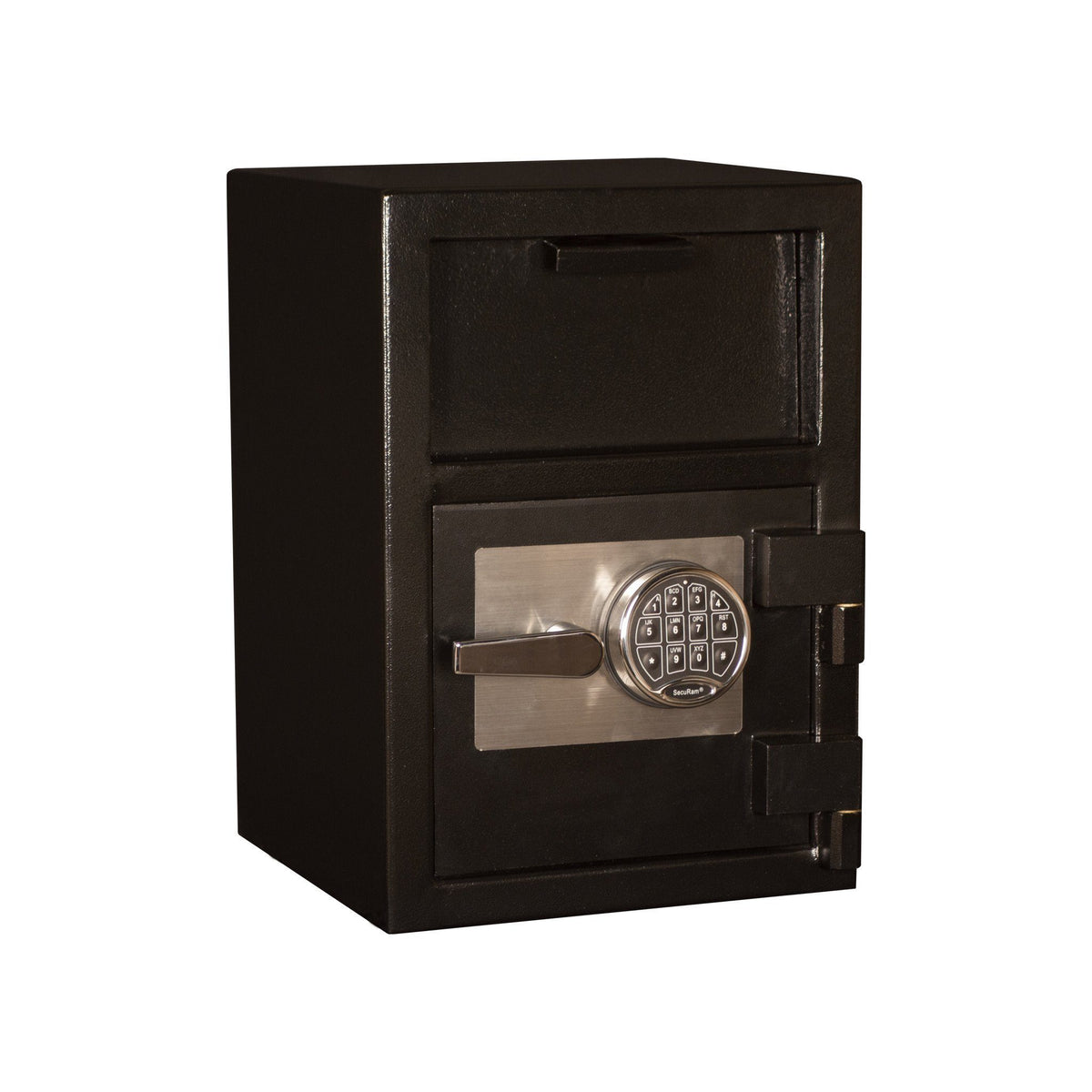 Front Loading Deposit Safes - Tracker DS201414-DSR Front Load Deposit Safe With Electronic Lock
