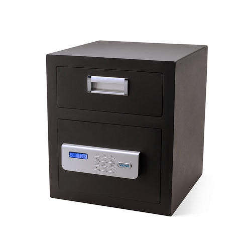 Front Loading Deposit Safes - Viking VS-40DS Depository Safe With Keypad Lock