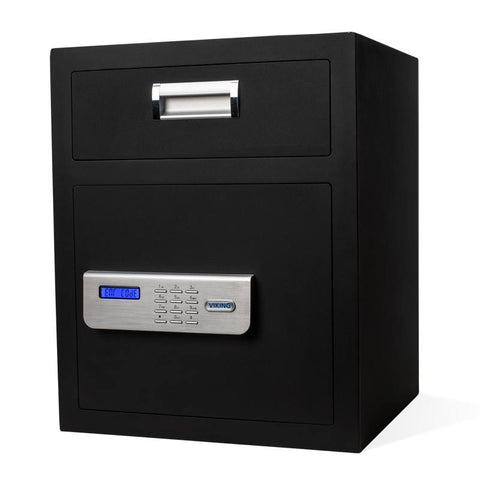 Front Loading Deposit Safes - Viking VS-48DS Large Depository Safe With Keypad Lock