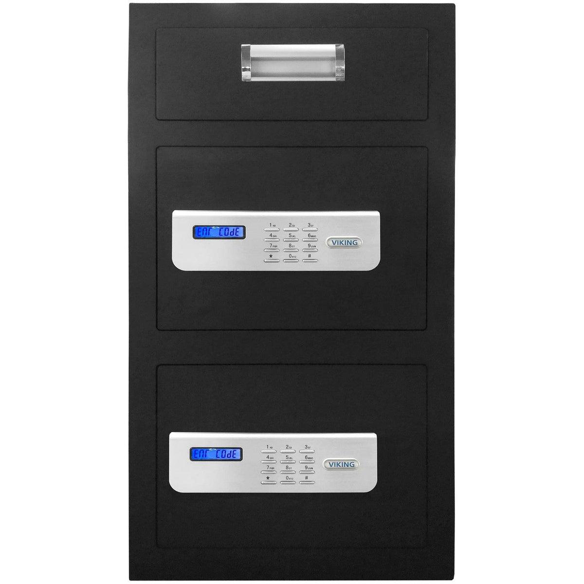 Viking VS-70DS Double Door Depository Safe with Electronic Locks