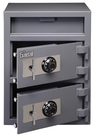 Gardall LCF2820-G-C Double Door Depository Safe